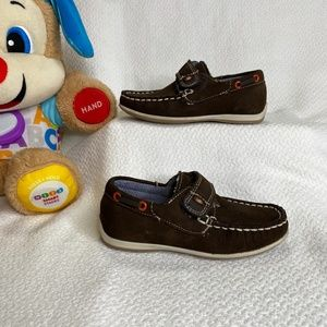 Toddler Boy Leather Moccasins Size 9
